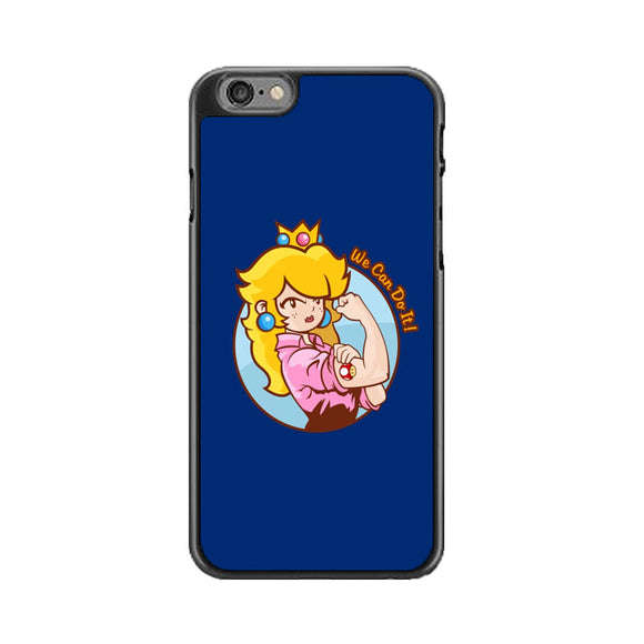 Princess Peach We Can Do It iPhone 6 Plus|6S Plus Case | Babycasee