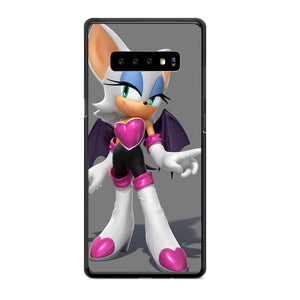 Rouge Sonic The Hedgehog Samsung Galaxy S10 Plus Case | Babycasee