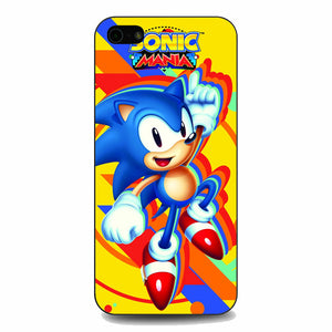 Sonic Mania iPhone 5|5S|SE Case | Babycasee