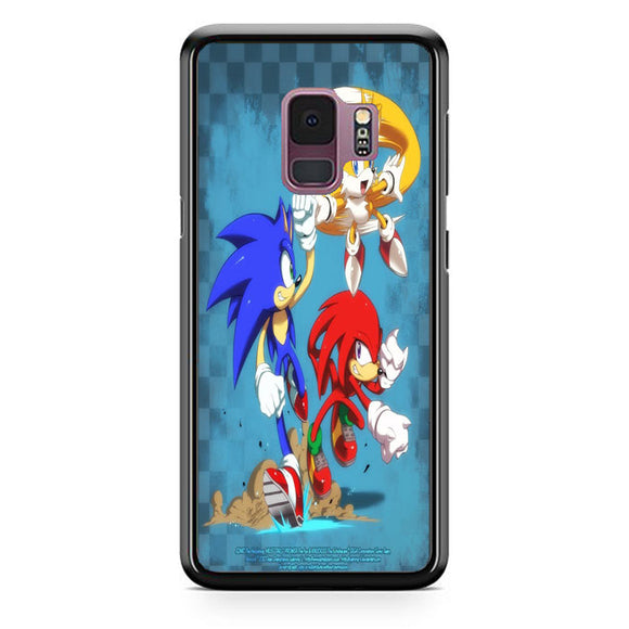 Team Sonic The Hedgehog Samsung Galaxy S9 Case | Babycasee