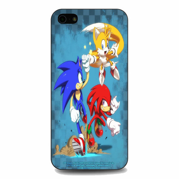 Team Sonic The Hedgehog iPhone 5|5S|SE Case | Babycasee