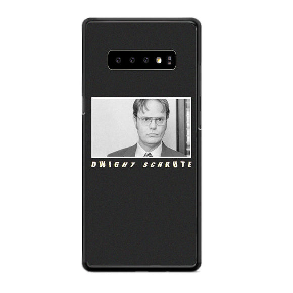 The Office Funny Cool Tv Show Dwight Schrute Samsung Galaxy S10 Case | Babycasee