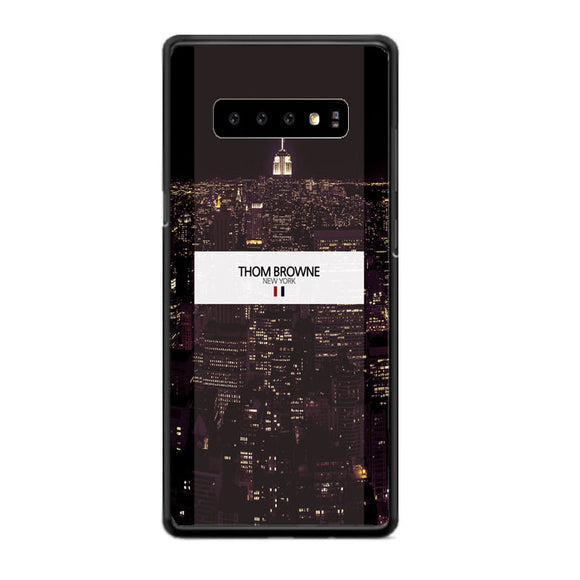 Thom Browne New York City Wallpaper Samsung Galaxy S10 Plus Case | Babycasee