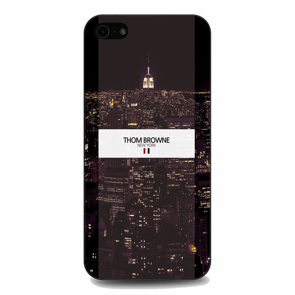 Thom Browne New York City Wallpaper iPhone 5|5S|SE Case | Babycasee