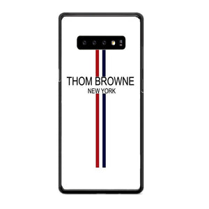 Thom Browne New York Wallpaper Samsung Galaxy S10 Case | Babycasee