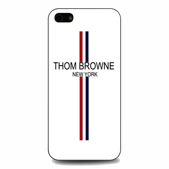 Thom Browne New York Wallpaper iPhone 5|5S|SE Case | Babycasee