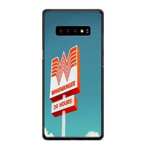 Whataburger 24 Hours Samsung Galaxy S10 Plus Case | Babycasee