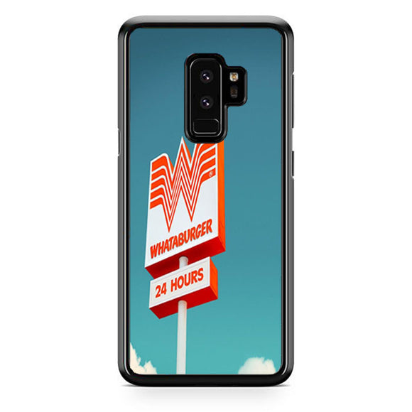 Whataburger 24 Hours Samsung Galaxy S9 Plus| Babycasee
