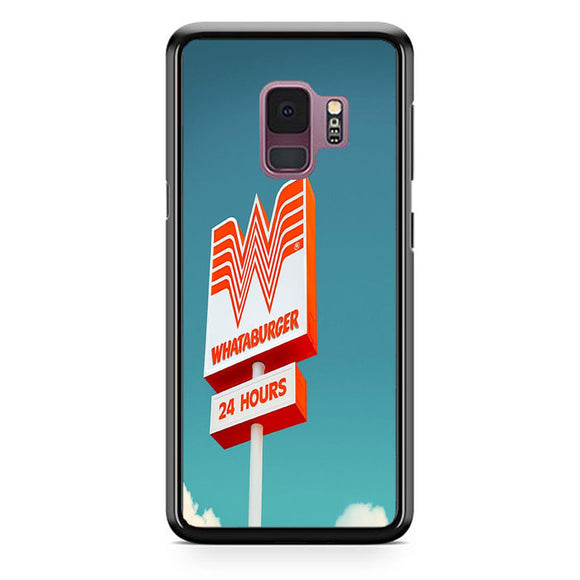 Whataburger 24 Hours Samsung Galaxy S9 Case | Babycasee