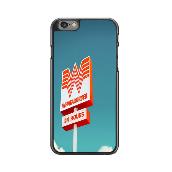 Whataburger 24 Hours iPhone 6|6S Case | Babycasee