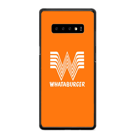 Whataburger Orange Logo Samsung Galaxy S10 Case | Babycasee