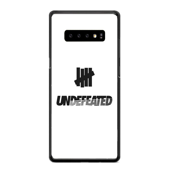 White Black Undefeated Logo Samsung Galaxy S10 Case | Babycasee