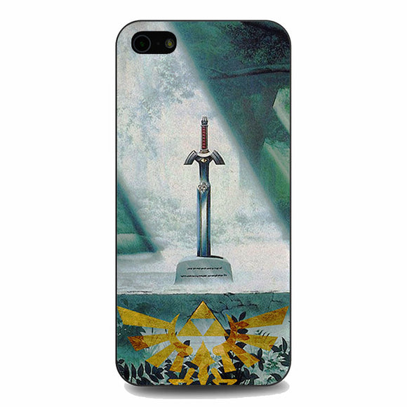 Zelda Sword In Forest iPhone 5|5S|SE Case | Babycasee