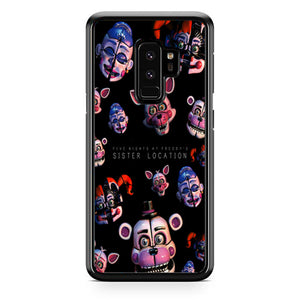 Five Nights At Freddys Sister Location Pattern Wallpaper Samsung Galaxy S9 Plus| Babycasee