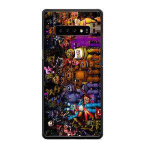 Fnaf Five Nights At Freddys Monster All Character Samsung Galaxy S10 Plus Case | Babycasee