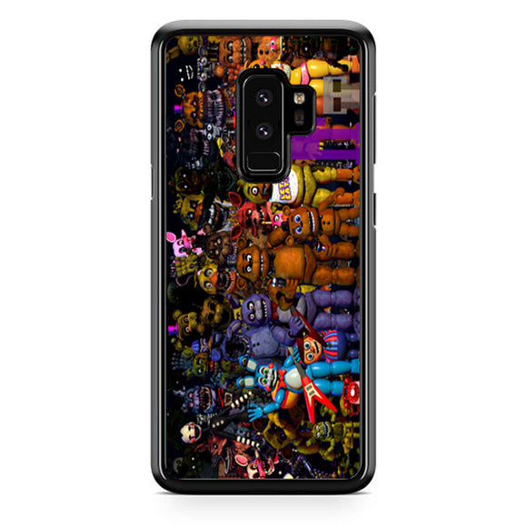 Fnaf Five Nights At Freddys Monster All Character Samsung Galaxy S9 Plus| Babycasee