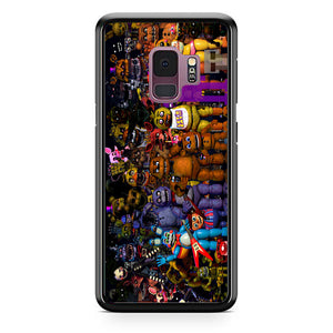 Fnaf Five Nights At Freddys Monster All Character Samsung Galaxy S9 Case | Babycasee