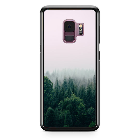 Foggy In Forest Mountain Samsung Galaxy S9 Case | Babycasee