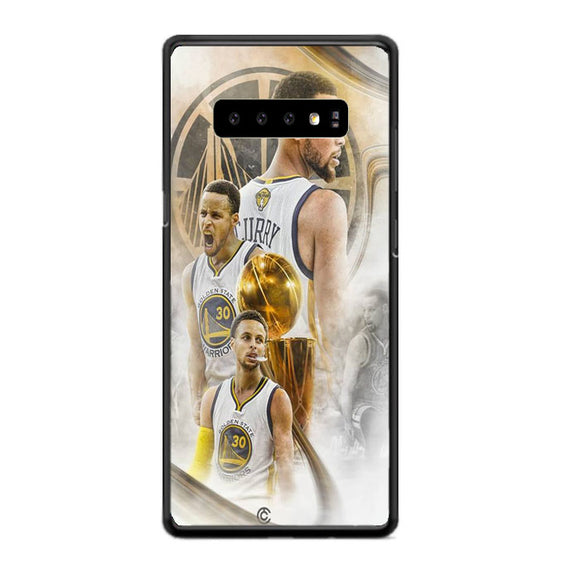 Golden State Warriors Curry Collages Samsung Galaxy S10 Case | Babycasee