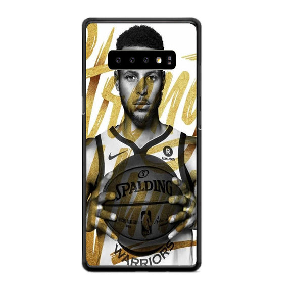 Golden Stephen Curry Samsung Galaxy S10 Case | Babycasee