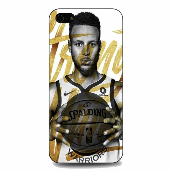 Golden Stephen Curry iPhone 5|5S|SE Case | Babycasee