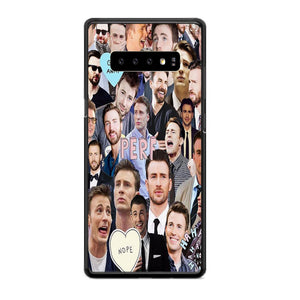 Chris Evans Photo Collages Perf Samsung Galaxy S10 Plus Case | Babycasee