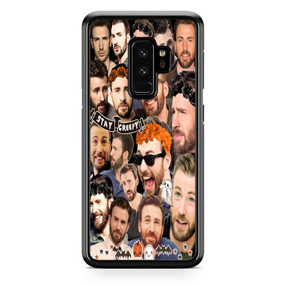 Chris Evans Stay Creepy Photo Collages Samsung Galaxy S9 Plus| Babycasee