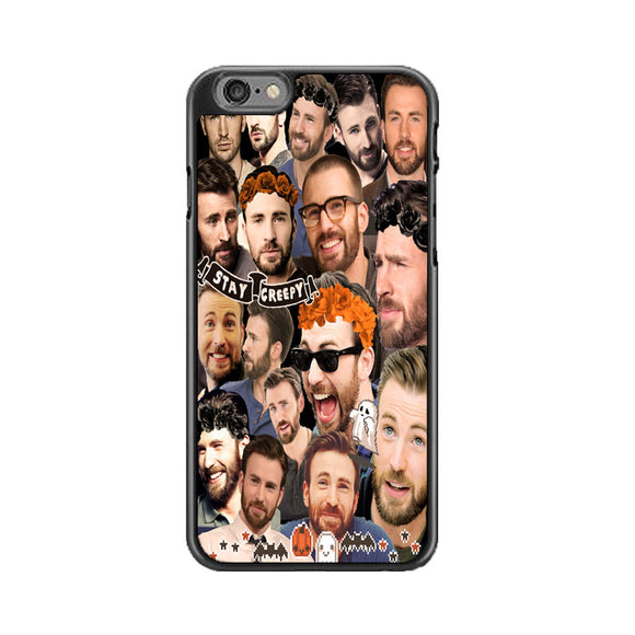 Chris Evans Stay Creepy Photo Collages iPhone 6|6S Case | Babycasee