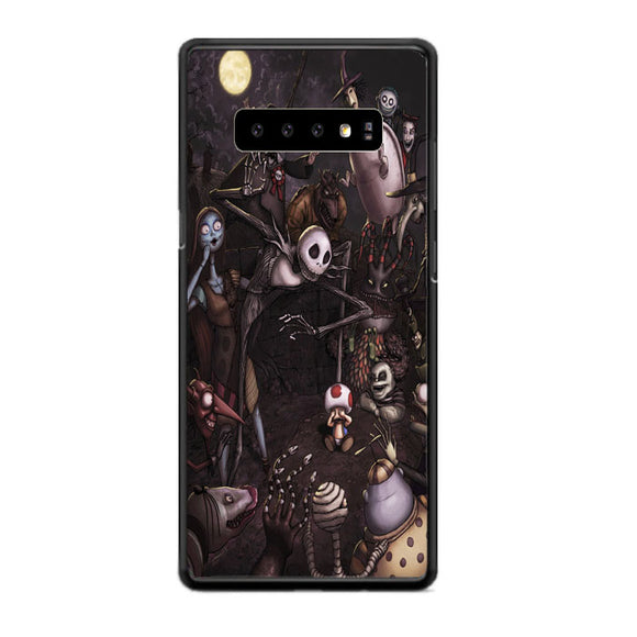 Jack Skellington And Friends Samsung Galaxy S10e Case | Babycasee