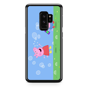 Peppa Pig Bubbles Samsung Galaxy S9 Plus| Babycasee