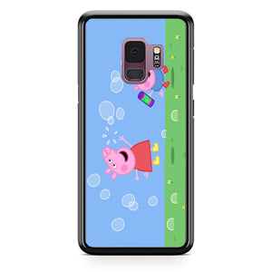 Peppa Pig Bubbles Samsung Galaxy S9 Case | Babycasee
