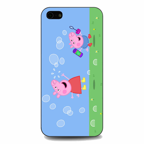 Peppa Pig Bubbles iPhone 5|5S|SE Case | Babycasee