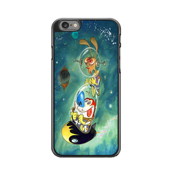 Ren And Stimpy On The Galaxy iPhone 6 Plus|6S Plus Case | Babycasee