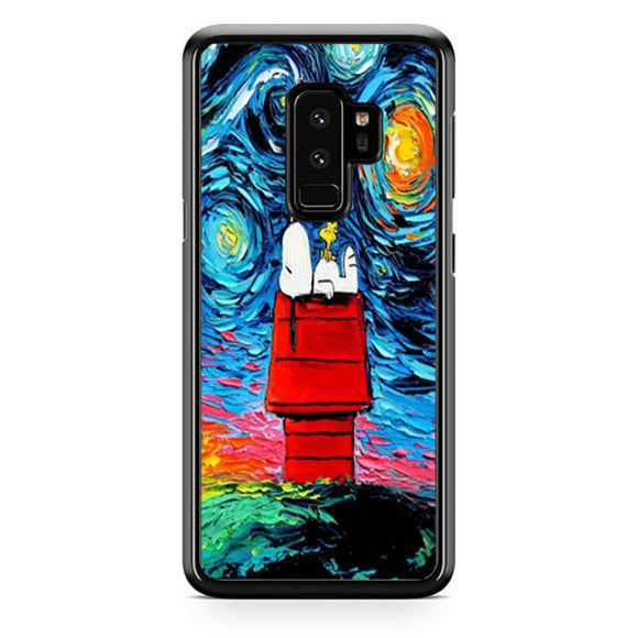 Snoopy Sleep Starry Night Samsung Galaxy S9 Plus| Babycasee