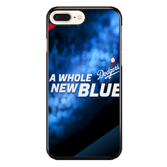 A Whole New Blue Dodgers Baseball iPhone 8 Plus Case | Babycase