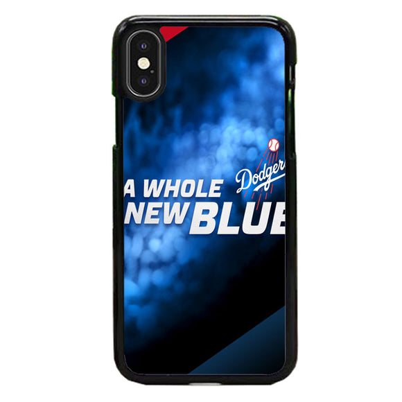 A Whole New Blue Dodgers Baseball iPhone XS Max Case | Babycase