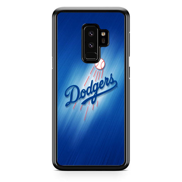 Dodgers Baseball Blue Wallpaper Samsung Galaxy S9 Plus Case Babycase Babycasee