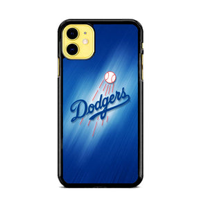 Dodgers Baseball Blue Wallpaper iPhone 11 Case | Babycase