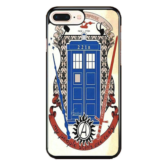 Lord Of The Rings Doctor Who Harry Potter iPhone 7 Plus Case | Babycase