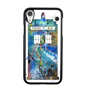 Police Box Watercolor iPhone XR Case | Babycase