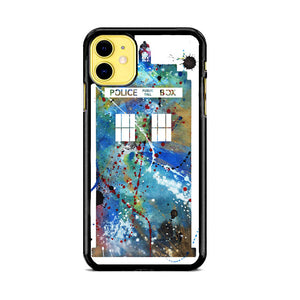Police Box Watercolor iPhone 11 Case | Babycase