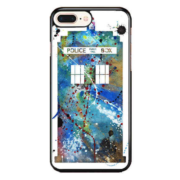 Police Box Watercolor iPhone 7 Plus Case | Babycase