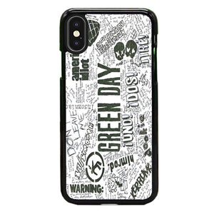 Green Day Art Quotes iPhone XS Max Case | Babycase