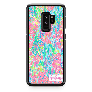 Lilly Pulitzer Palm Beach Coral Samsung Galaxy S9 Plus Case | Babycase