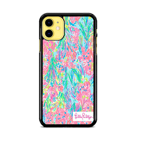 Lilly Pulitzer Palm Beach Coral iPhone 11 Case | Babycase