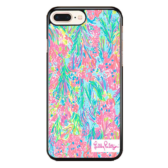 Lilly Pulitzer Palm Beach Coral iPhone 8 Plus Case | Babycase
