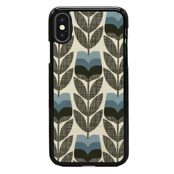 Orla Kiely Rosebud Powder Blue iPhone X Case | Babycase