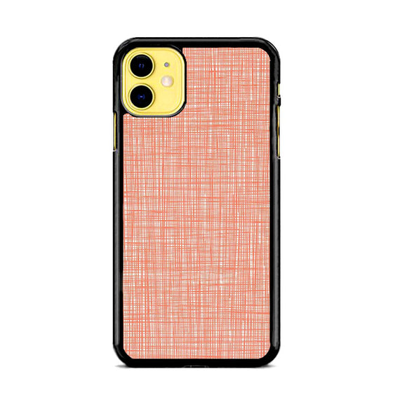 Orla Kiely Wallpaper Scribble Red iPhone 11 Case | Babycase
