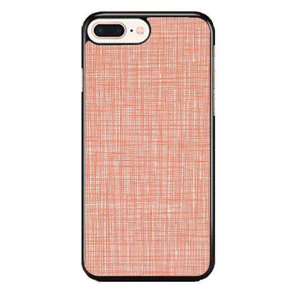Orla Kiely Wallpaper Scribble Red iPhone 7 Plus Case | Babycase