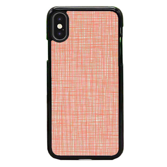 Orla Kiely Wallpaper Scribble Red iPhone X Case | Babycase